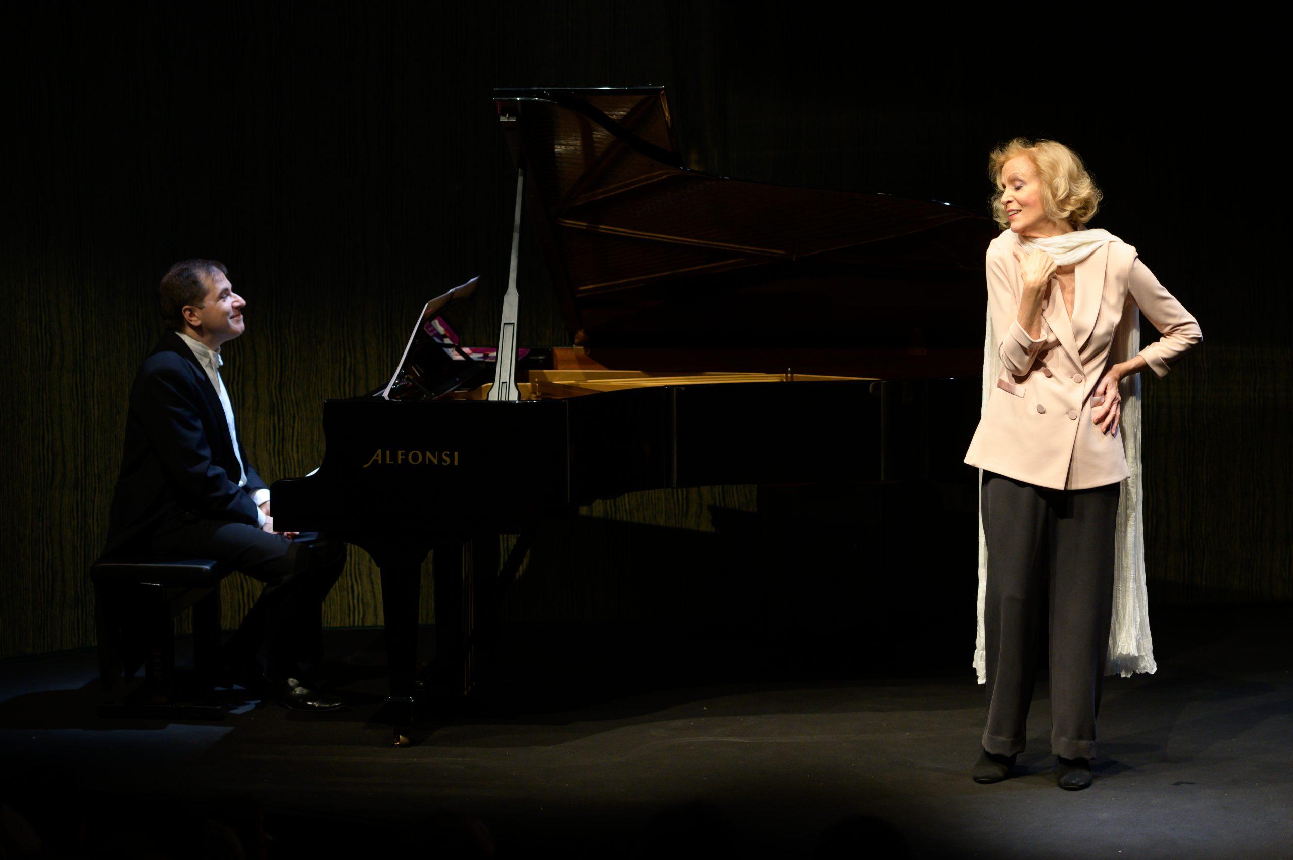 Lucia Poli e Marco Scolastra