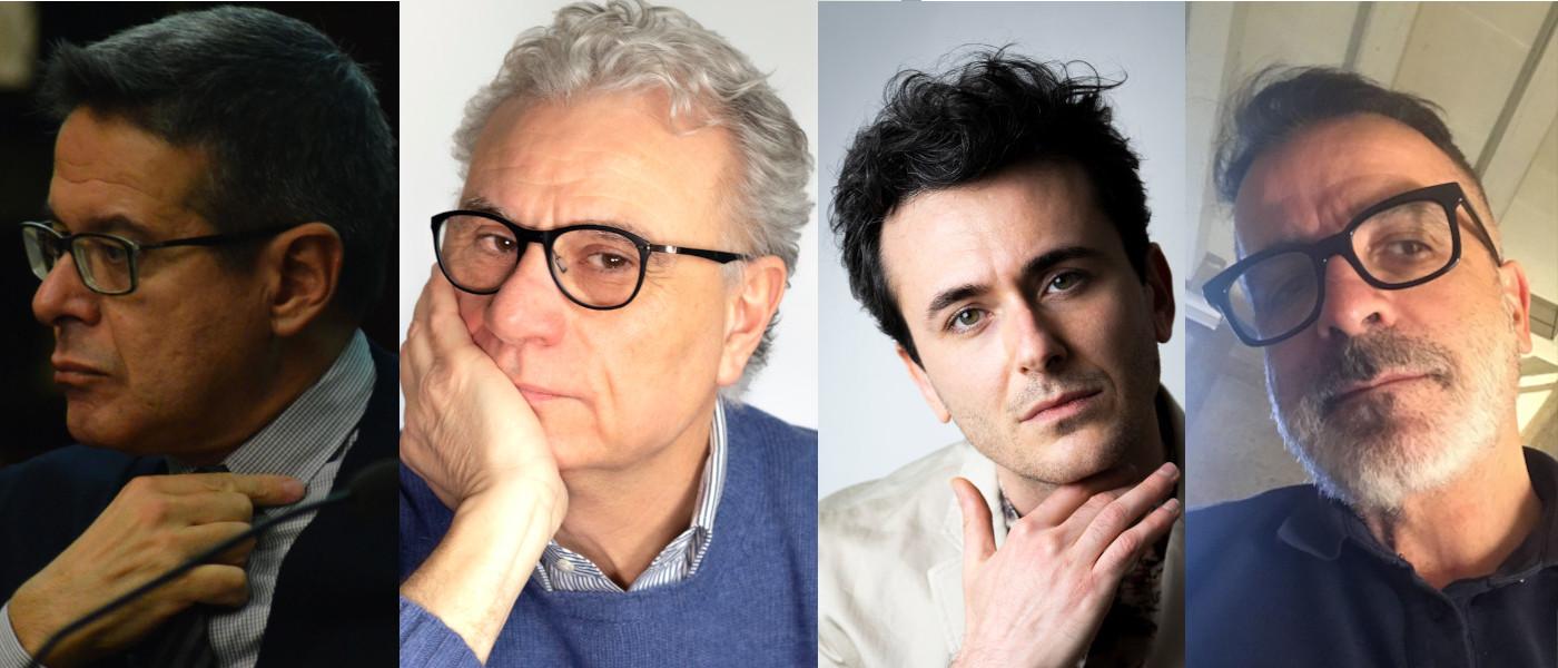Marco Antonio Bazzocchi Francesco Stoppa Marcello Fois e Giusto Cucchiarini